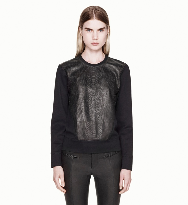 Tornn_Helmut_Lang_Leather_Combo_Shirt