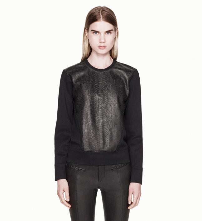 Tornn_Helmut_Lang_Leather_Combo_Shirt